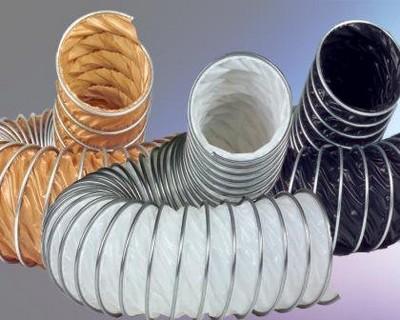 Разновидности гибких пластиковых воздуховодов