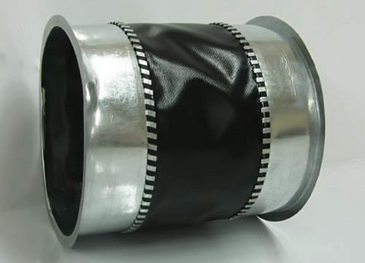 Разновидность гибкой вставки для круглого воздуховода