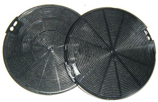 На фото: угольный фильтр для вытяжки