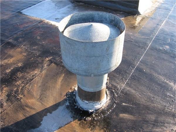 Внешний вид дефлектора, использующегося для усиления вентиляции погребов и подвалов