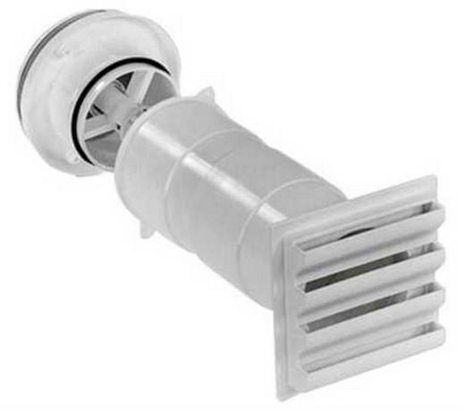 Один из видов клапанов естественной системы вентиляции в частном доме