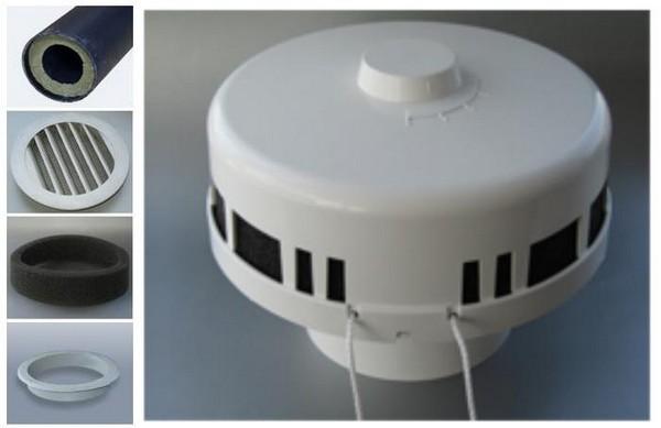 Клапан КПВ-125 и его элементы на фото