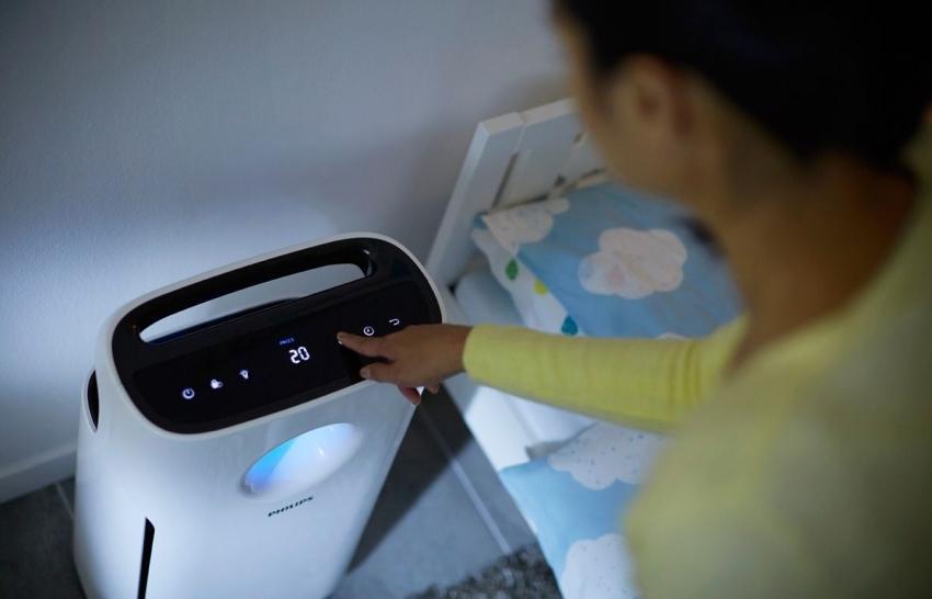Вентилятор с увлажнителем воздуха для квартиры