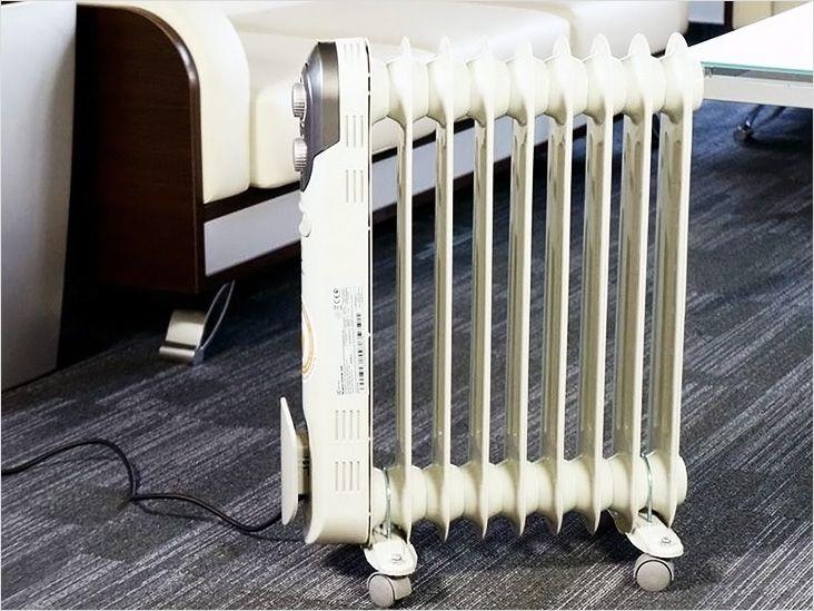 Масляные обогреватели с вентилятором