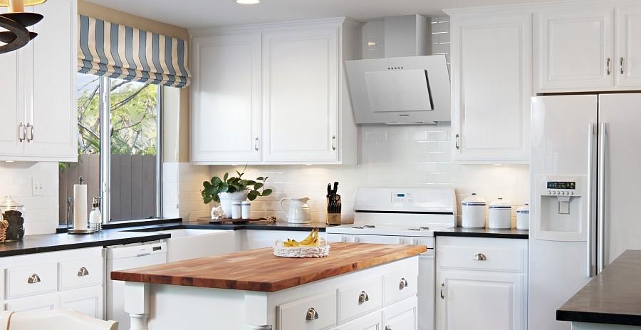Размеры вытяжки для кухни