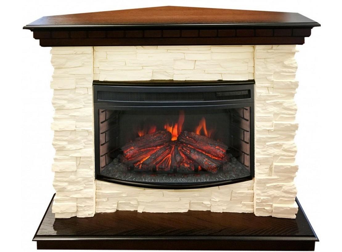 Real-flame Elford Corner