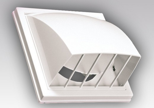 Внешний вид пластикового обратного клапана для вентиляции