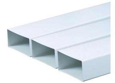 Плоские и прямоугольные пластиковые воздуховоды