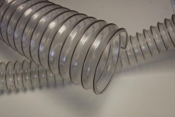 Внешний вид гофрированного гибкого воздуховода