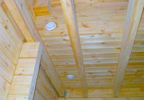 Клапаны вентиляции в деревянном доме