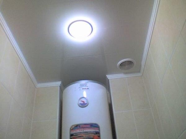 Вытяжка в туалет