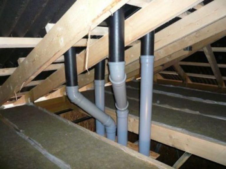 Вытяжные трубы для вентиляции в частном доме