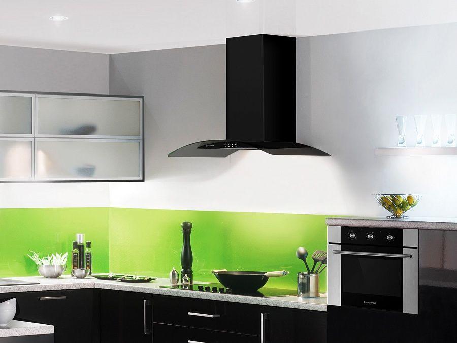 Встраиваемая вытяжка на кухню 90 см