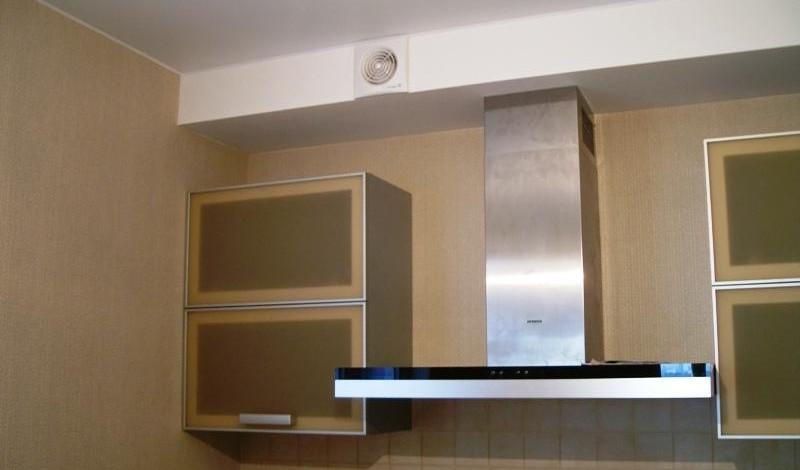 Короб для вытяжки на кухне